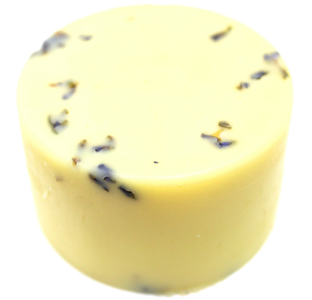 lavender vegan lotion close up