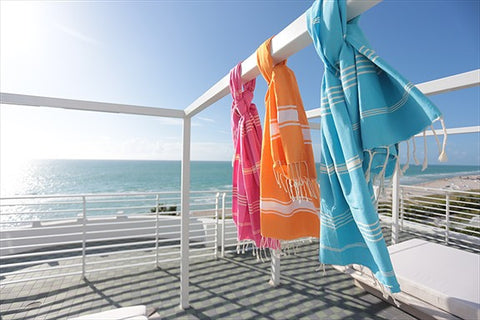 Turkish Fouta Towels for the beach