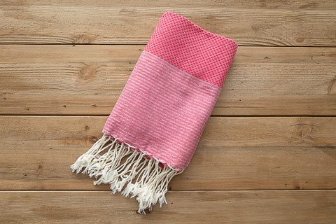 pink bath towels