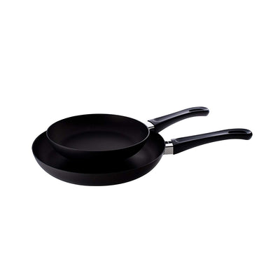 Scanpan Classic 2 Piece Fry Pan Set, Black 10202600