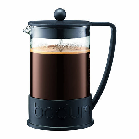Bodum 11030-01US4 Brazil French Press Coffee Maker, 12-Cup, 1.5 L, 51-Ounce