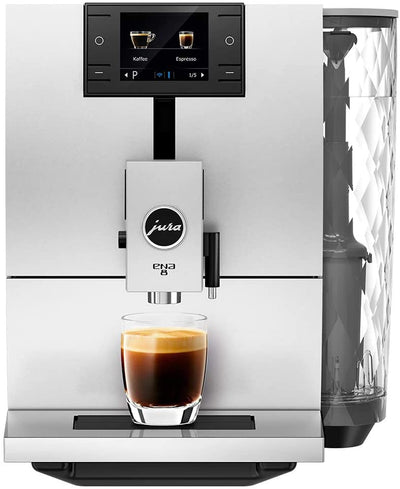 JURA ENA 8 Nordic White Automatic Coffee Machine 15284