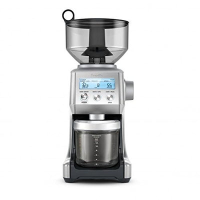 Breville The Smart Grinder Pro Coffee Bean Grinder, Brushed Stainless Steel BCG820BSSXL