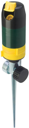 Melnor 2950 Rotary Sprinkler, Two Stage Complete Coverage Watering Pattern, GARDEQUIP