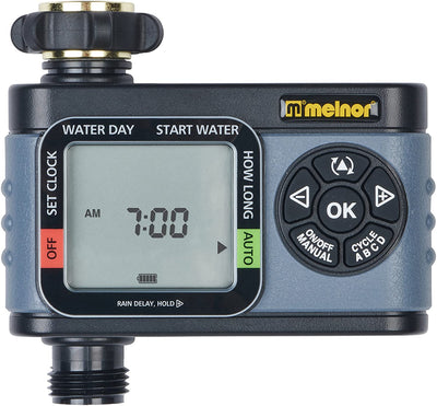 Melnor HydroLogic 1-Zone Digital Water Timer 73015