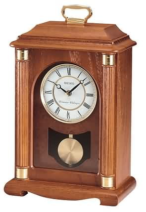 Seiko CHIME CARRIAGE MANTEL CLOCK WITH CHIME