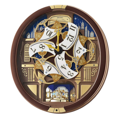 Seiko Melodies in Motion-Wall Japanese Quartz Whimsical Clock QXM362BRH