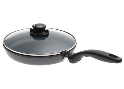 "Swiss Diamond Nonstick Fry Pan with Lid 8""-10.25"""
