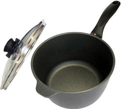 Swiss Diamond Nonstick Saucepan With Lid 2.2QT, 3.2QT