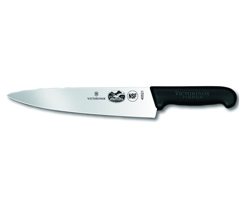 "Victorinox 10"" Chef's Knife, Black Fibrox Handle"