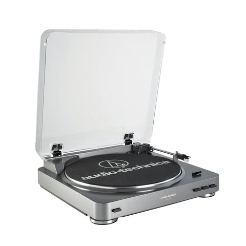 Audio Technica AT-LP60-USB Fully Automatic Belt-Drive Stereo Turntable (USB & Analog)