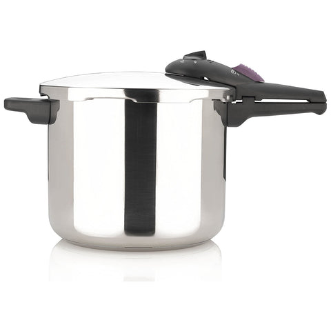 Fagor Splendid 10 Quart 15-PSI Pressure Cooker and Canner, Polished Stainless Steel