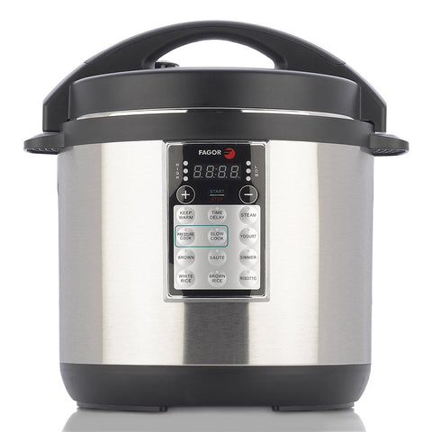 Fagor LUX Multi-Cooker 8 quart Electric Pressure Cooker