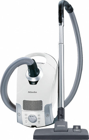 Miele Compact C1 Pure Suction Canister Vacuum, Lotus White