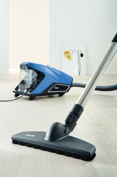 Miele Blizzard CX1 Turbo Team Bagless Canister Vacuum Tech Blue