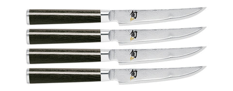 Shun Classic 4pc Steak Knife Set