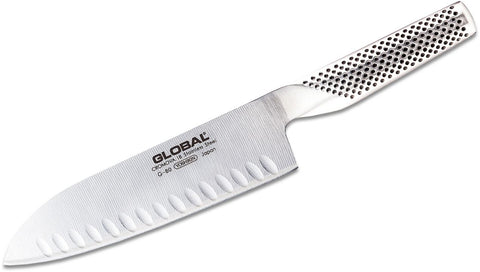 "Global 7"" Hollow Ground Santoku Knife G-80"