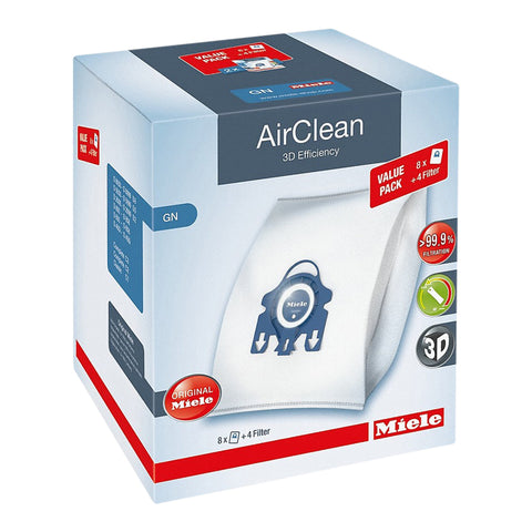 XL-Pack AirClean 3D Efficiency GN 8 AirClean GN dustbags