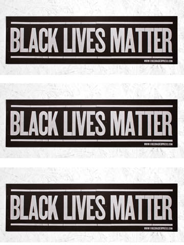 BLACK LIVES MATTER - SINGLE POSTER