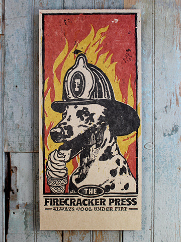Fire Dog Poster