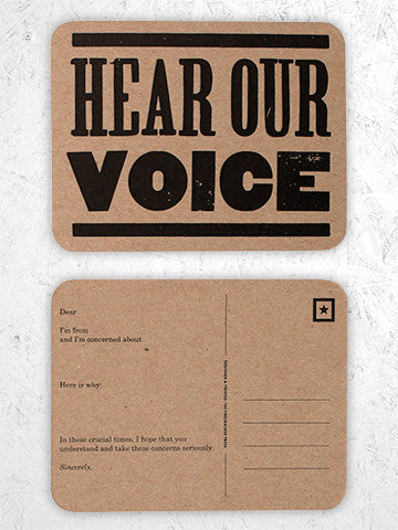 HEAR OUR VOICE - single