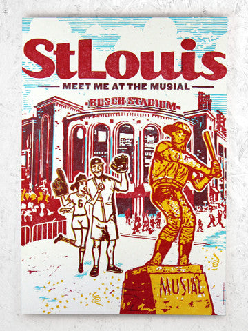 STAN MUSIAL POSTER