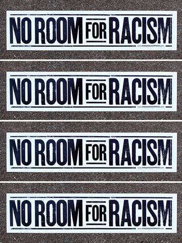 No Room For Racism - Single Poster