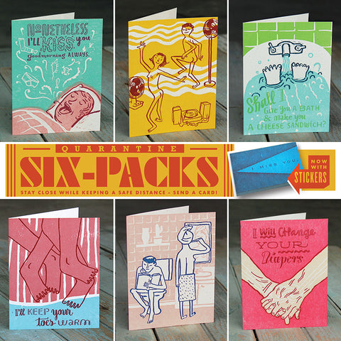 QUARANTINE SIX-PACK #1