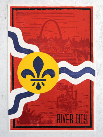 RIVER CITY POSTER