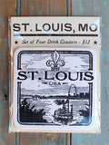 ST. LOUIS COASTER SET