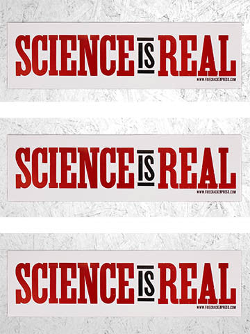 SCIENCE IS REAL - SINGLE POSTER