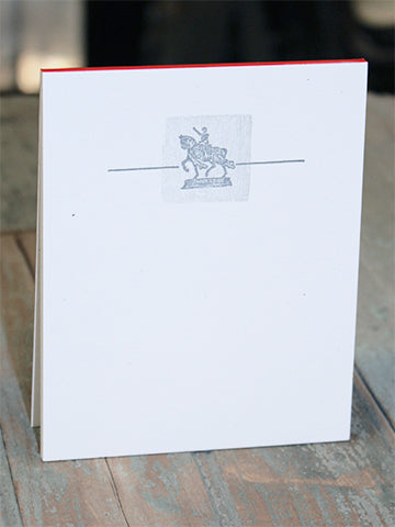 St. Louis Statue Notepad