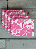 HIBISCUS CARD - PINK