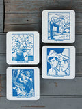 SASQUATCH HUNT COASTERS