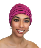 Ladies' Beanie Hat Fuchsia Hot Pink - Sacko Boutique  - 3