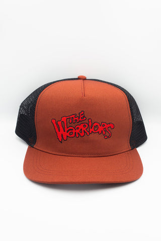 THE WARRIORS TRUCKER HAT