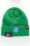 GREEN RICK AND MORTY BEANIE