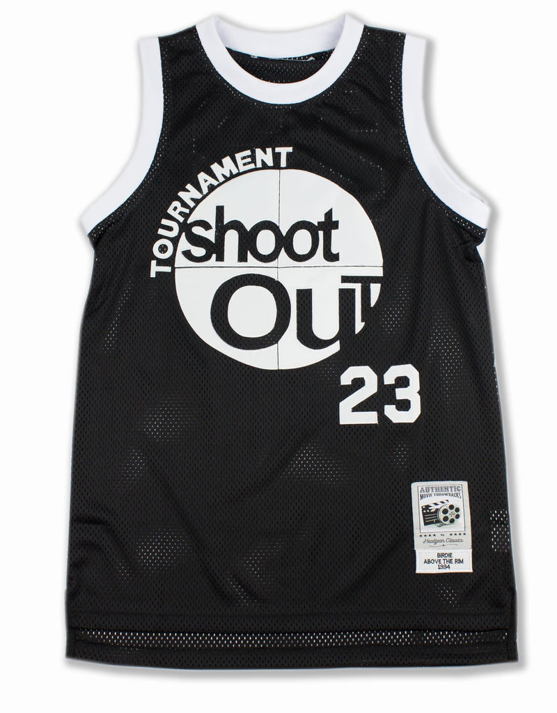 Shoot Out Basketball Jersey - Headgear