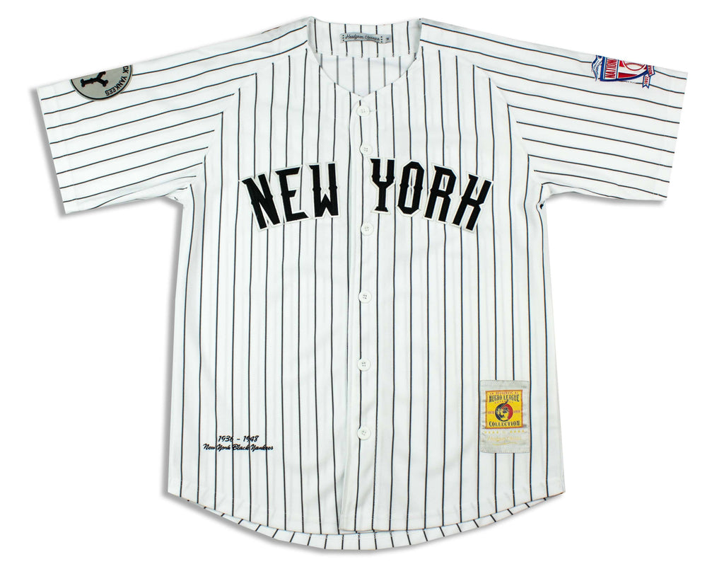 New York Black Yankees Negro League Baseball Jersey - Headgear