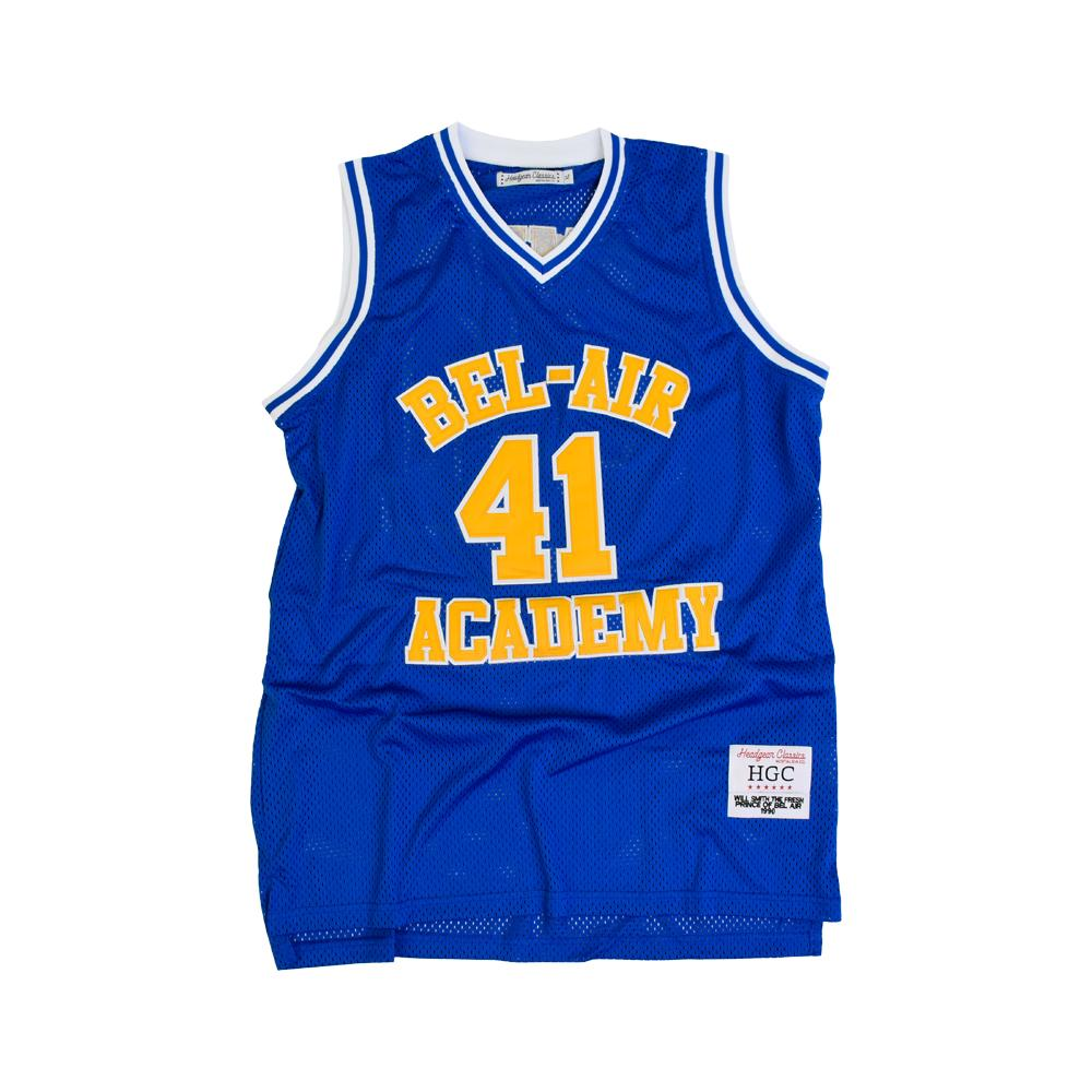 FREAH PRICE OF BEL- AIR BLUE ACADEMY BASKETBALL JERSEY