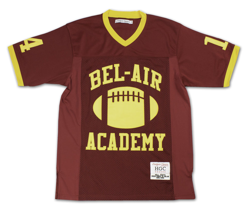 Bel-Air Academy Will Smith Football Jersey - shopallstarsports.com