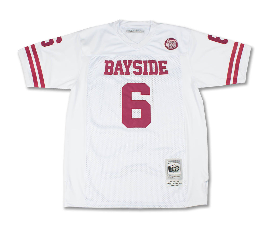 Bayside High A.C. Slater Football Jersey - Headgear