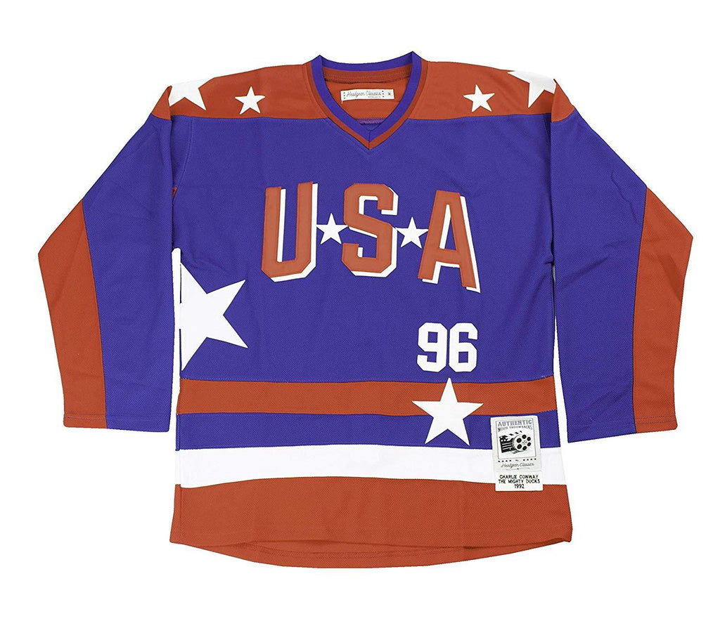 HeadGear Mighty Ducks D2 Conway Team USA Hockey Jersey - Headgear