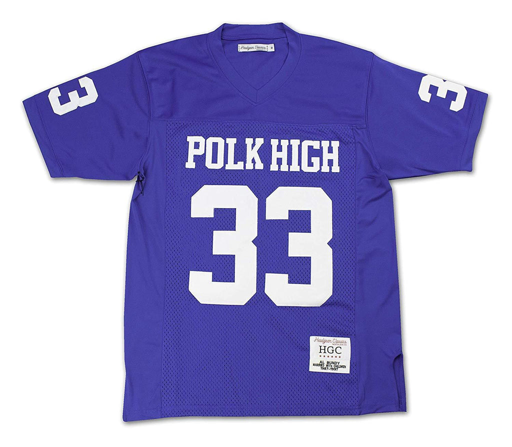HeadGear Al Bundy Polk High Football Jersey - Headgear