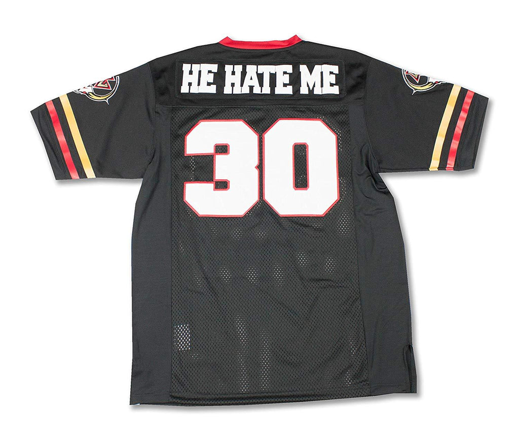 He Hate Me Football Jersey - Headgear