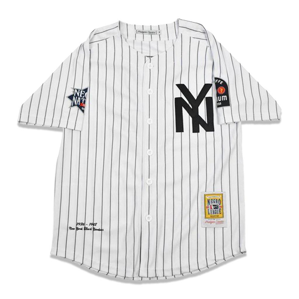 the latest 695df ad602 New York Black Yankees Buttondown Jersey