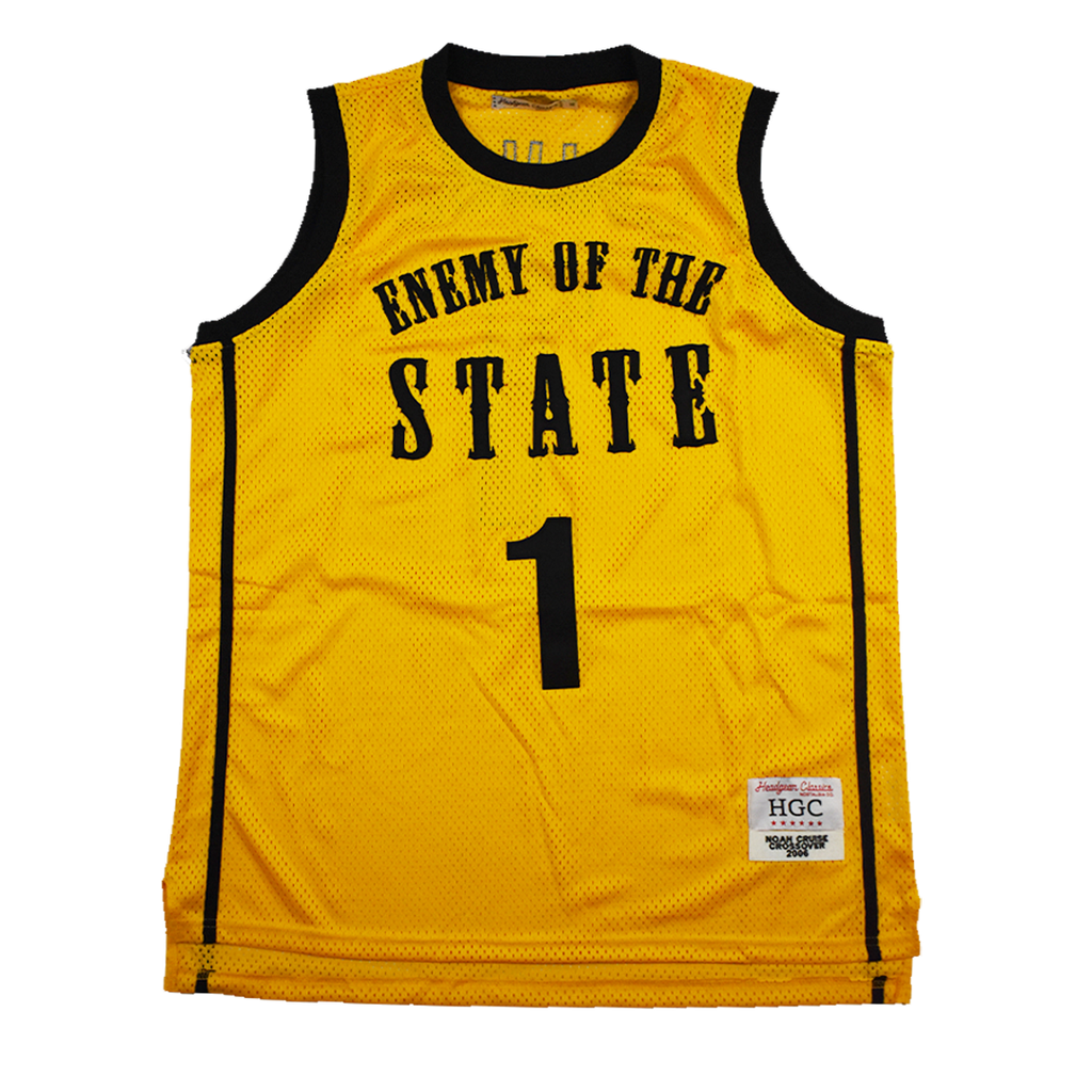 ENEMY OF THE STATE BASKETBALL JERSEY - shopallstarsports.com