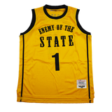 ENEMY OF THE STATE BASKETBALL JERSEY