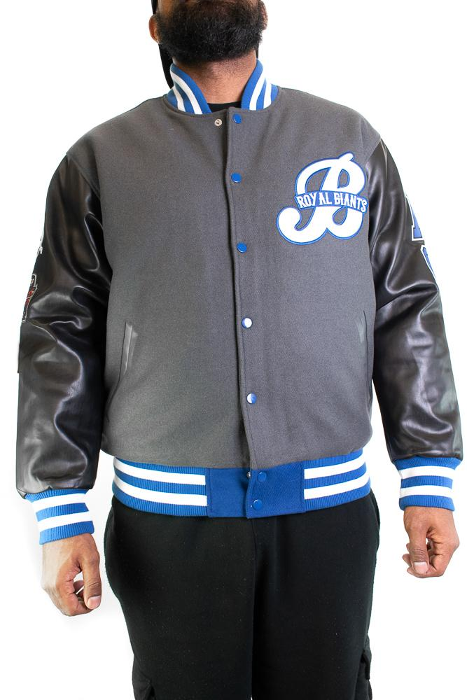 BROOKLYN ROYAL GIANTS VARSITY JACKET - shopallstarsports.com