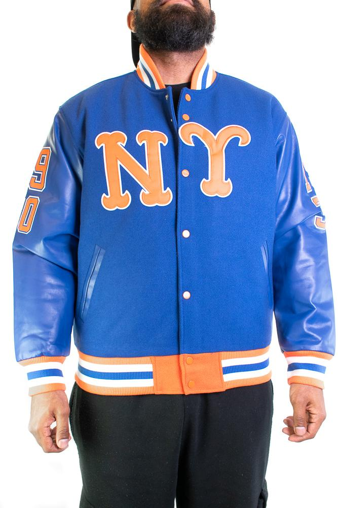NEW YORK LINCOLN GIANTS VARSITY JACKET - shopallstarsports.com